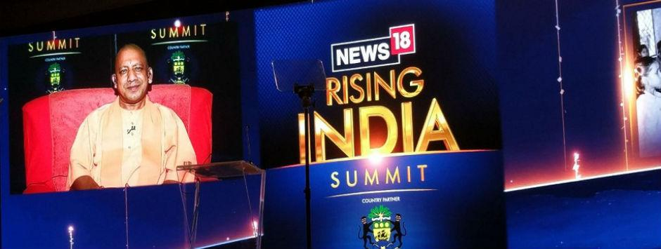 News18 Rising India Summit: Yogi Adityanath says overconfidence, lack of hard work cost BJP Gorakhpur