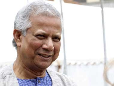 File image of Nobel Laureate Mohammad Yunus. Reuters