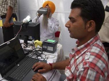 Aadhaar registration. AFP