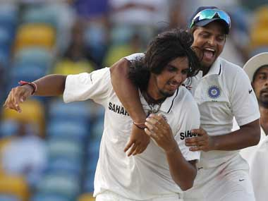 Ishant Sharma was back at his best in the West Indies