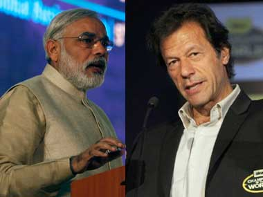 When Imran saw Modi, a feeling of nausea hit him as he took his seat on the panel. Reuters