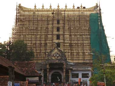 The evidence suggests that Maharaja of Travancore opened the temple's vaults in 2007 and photographed the treasures. Reuters