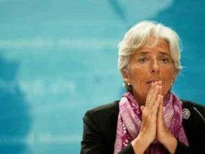 IMF boss Christine Lagarde warns US against trade barriers; says global economy is in good shape