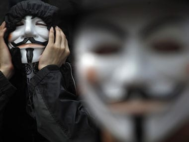 Guy Fawkes revived. Reuters.