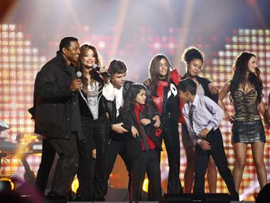 They danced for their father - Michael Jackson