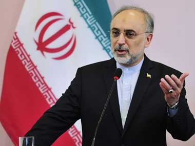 """Iranian Foreign Minister Ali Akbar Salehi speaks during a news conference during his visit to Benghazi, 3, November, 2011. Iran warned the US on Thursday that it should think twice before it enters a """"collision course"""" with the Islamic Republic over its nuclear programme. Reuters."""