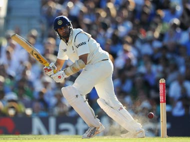VVS Laxman's batting is all sensual ease. Getty Images