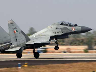 An IAF Sukhoi SU-30 aircraft. Image courtesy PIB