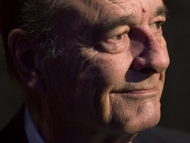 Former French President Jacques Chirac. Reuters