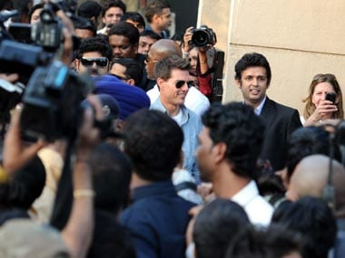Cruise is in the city to promote the fourth instalment of the Mission Impossible franchise. Raju Shelar/Firstpost