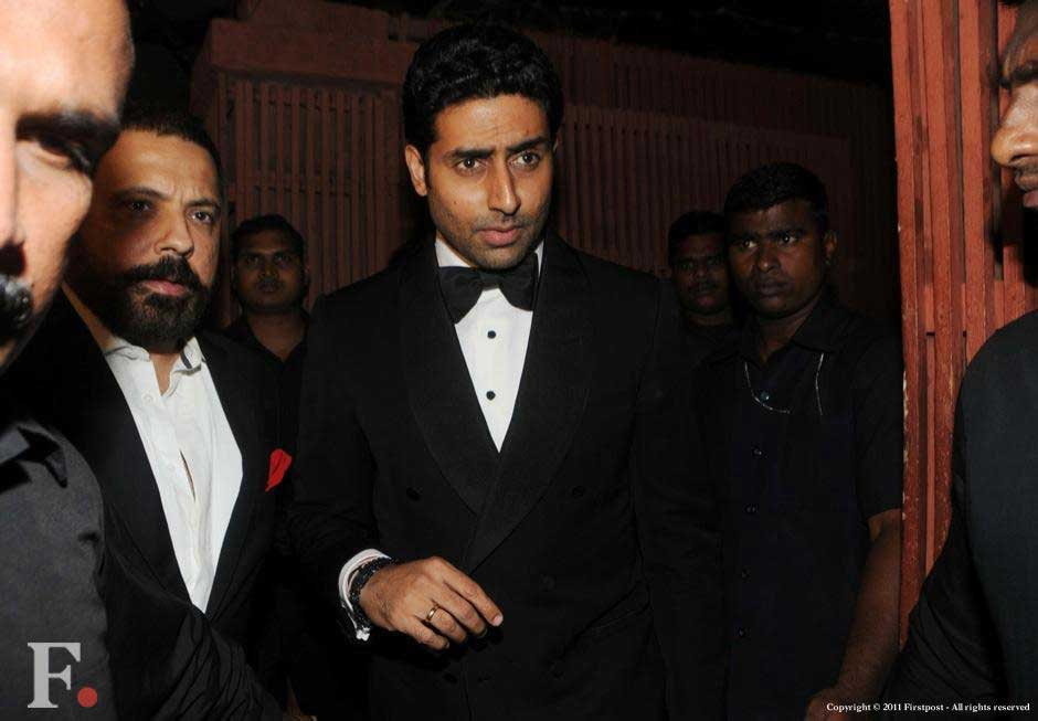 Abhishek Bachchan at the party. Raju Shelar/Firstpost
