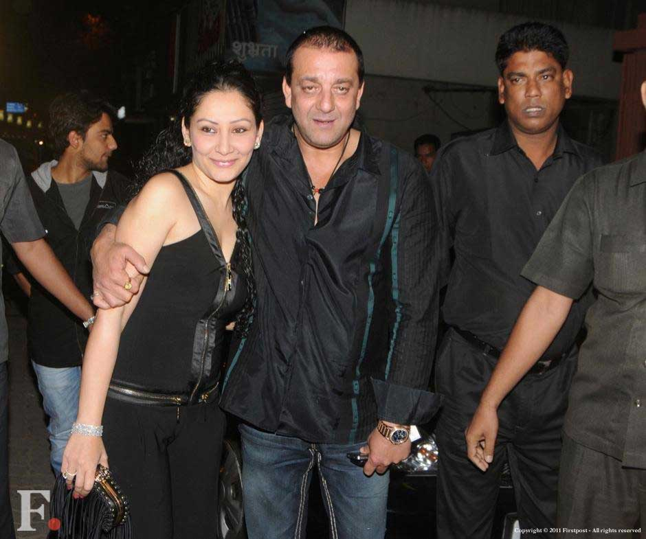 Sanjay Dutt and Manyata Dutt. Raju Shelar/Firstpost