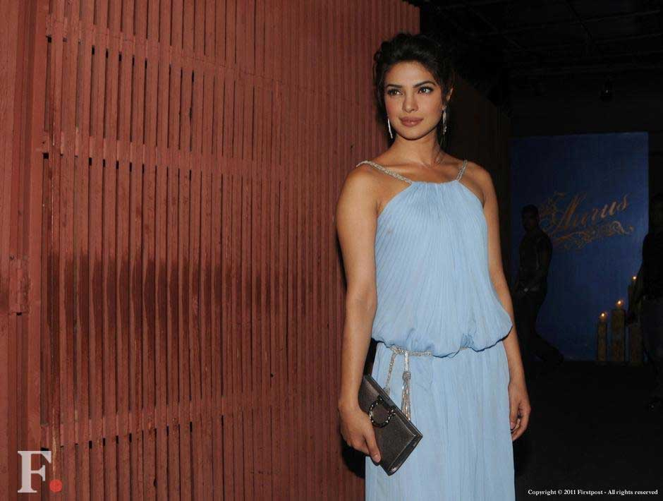 Priyanka Chopra looked stylish as usual at the party . Raju Shelar/Firstpost