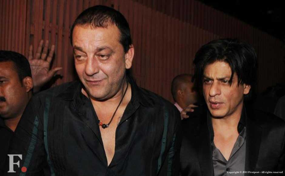 Sanjay Dutt and Shahrukh Khan. Raju Shelar/Firstpost