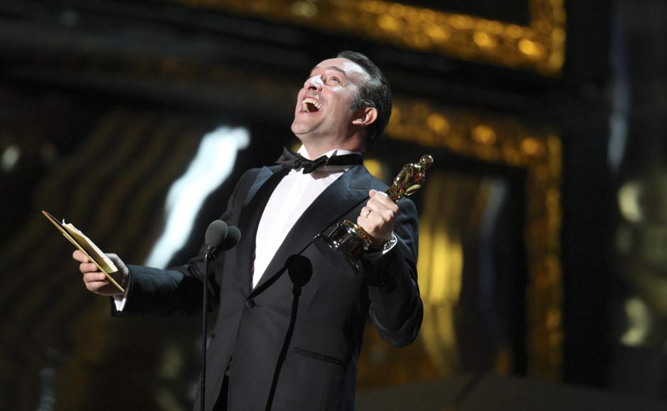 Images: The biggest winners at Oscars 2012