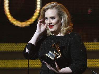 It's Whitney Houston's Grammy — Adele is best solo pop performer