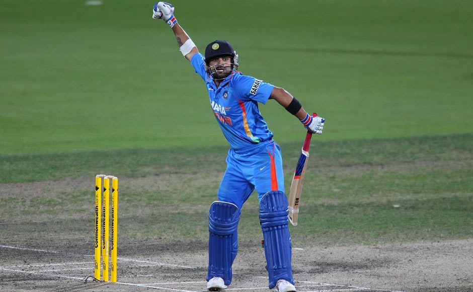 Images: Kohli's brilliance helps India beat Sri Lanka
