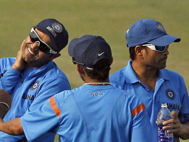 Sehwag, Gambhir and Sachin are all playing today. Reuters