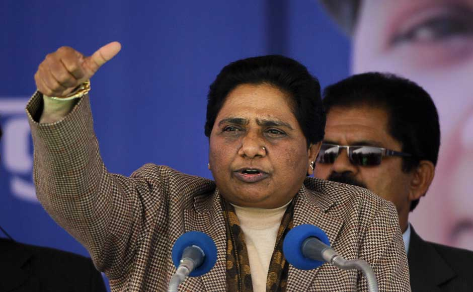 Mayawati is unlikely to remain as chief minister. The BSP has a lead in only 97 seats and is unlikely to gain a majority. AP