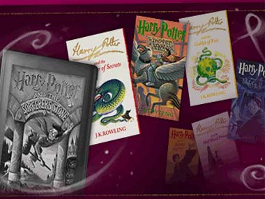 Screen grab from the Pottermore eBook store