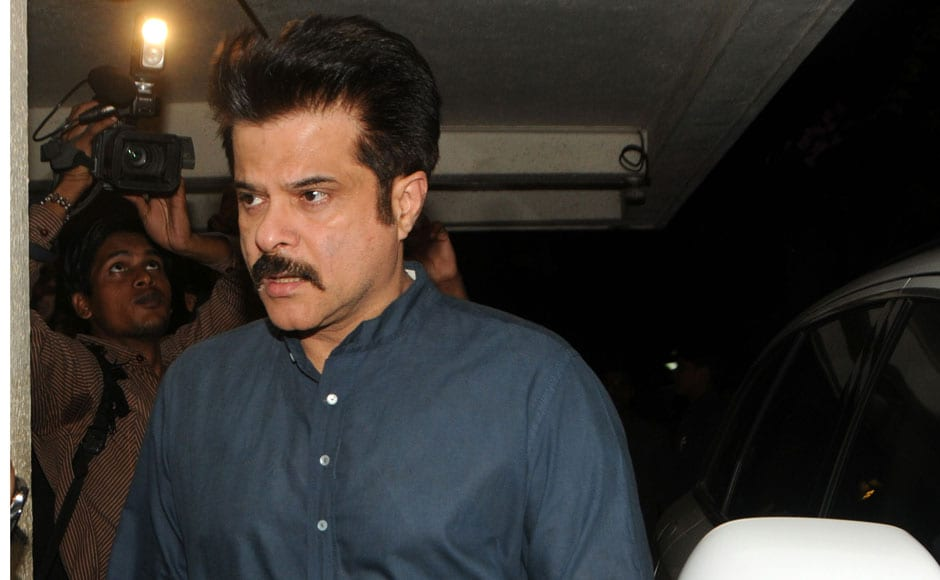 Anil Kapoor visits Mona's Juhu residence to offer his condolences. Raju Shelar/Firstpost