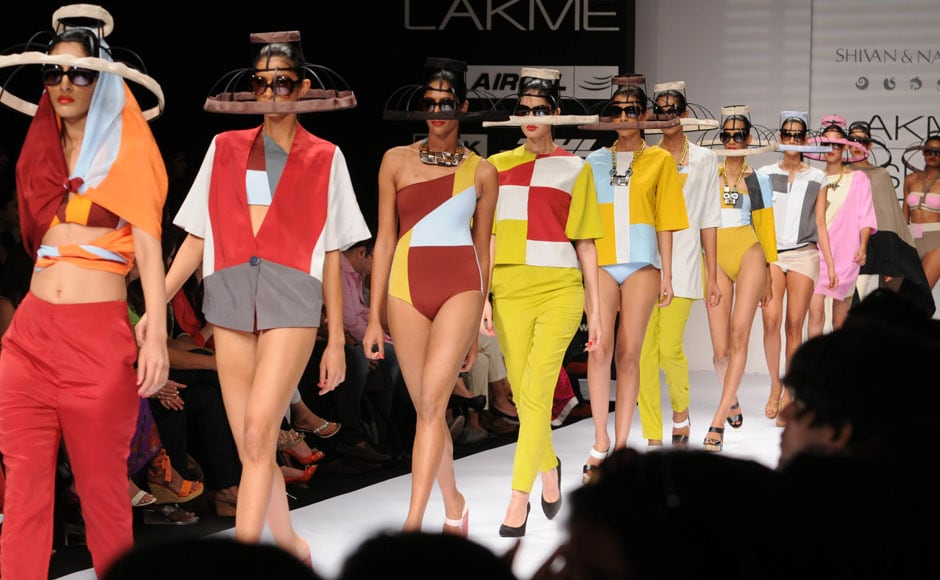 Designer duo Shivan and Narresh certainly got their colors right. Raju Shelar/ Firstpost