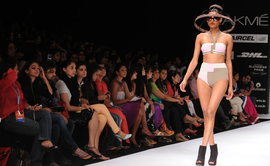 The model's pout ain't sexy at all.  Raju Shelar/ Firstpost