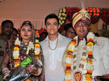 Aamir Khan Attends Wedding Of Auto Rickshaw Driver Friends Son