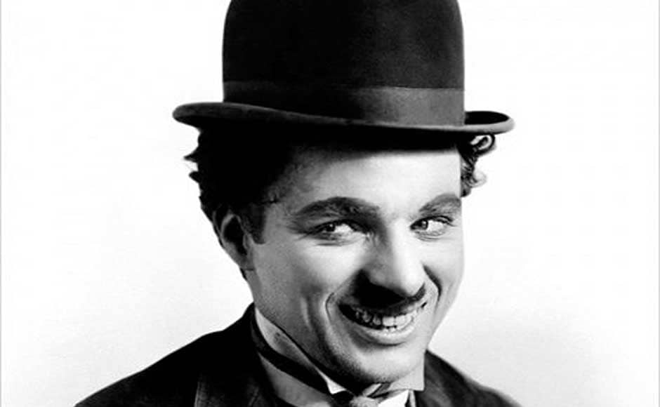 Chaplin as The Tramp, 1915.  From Wikipedia