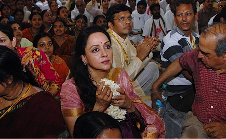 The yesteryears 'dream girl' Hema Malini is known to be an ISKCON devotee. Firstpost
