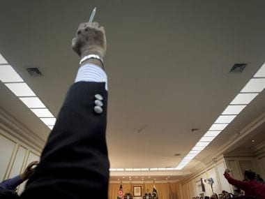 The pen is mightier than the sword. Reuters