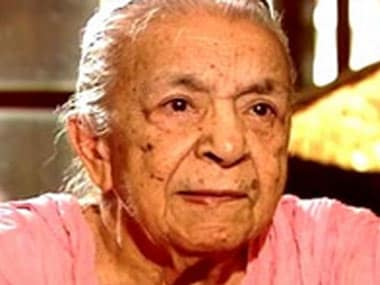 Zohra Sehgal turns 100 today. Screengrab/ibnlive