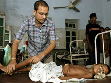 Health department statistics state that the death toll from Encephalitis in Malkangiri district of Odisha stands at 93, highlighting the dire healthcare in the state. Reuters