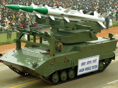 File image of the Akash missile system. Reuters