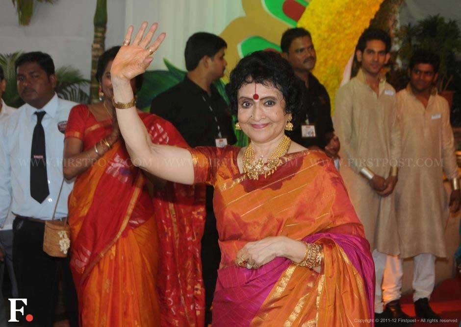 Vyjayanthimala at Esha Deol's wedding. Raju Shelar/Firstpost