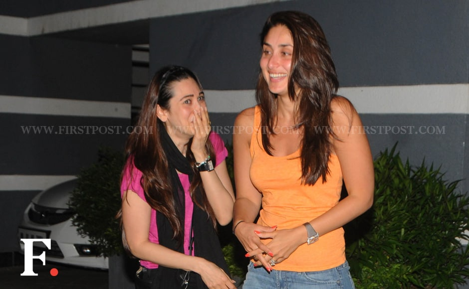 Sisters Kareena and Karisma Kapoor. Raju Shelar/Firstpost