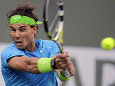 Nadal lost just one match on clay this year. AP