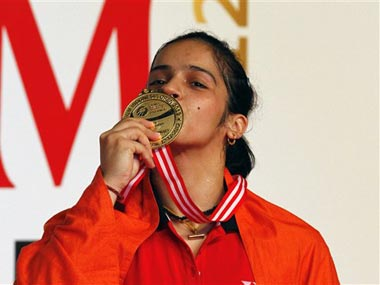 Saina Nehwal is a big, big star in Indonesia. AP