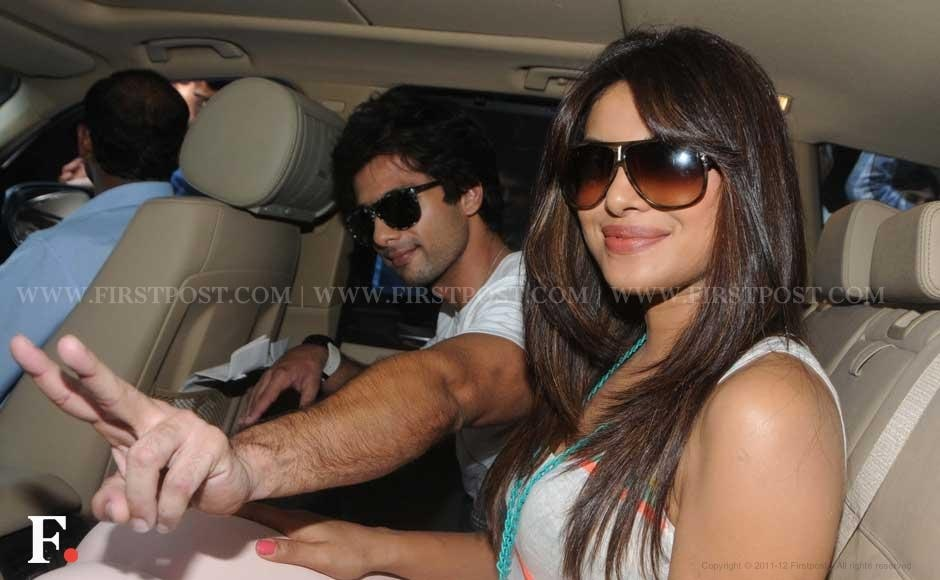 Shahid Kapoor and Priyanka Chopra. Raju Shelar/Firstpost