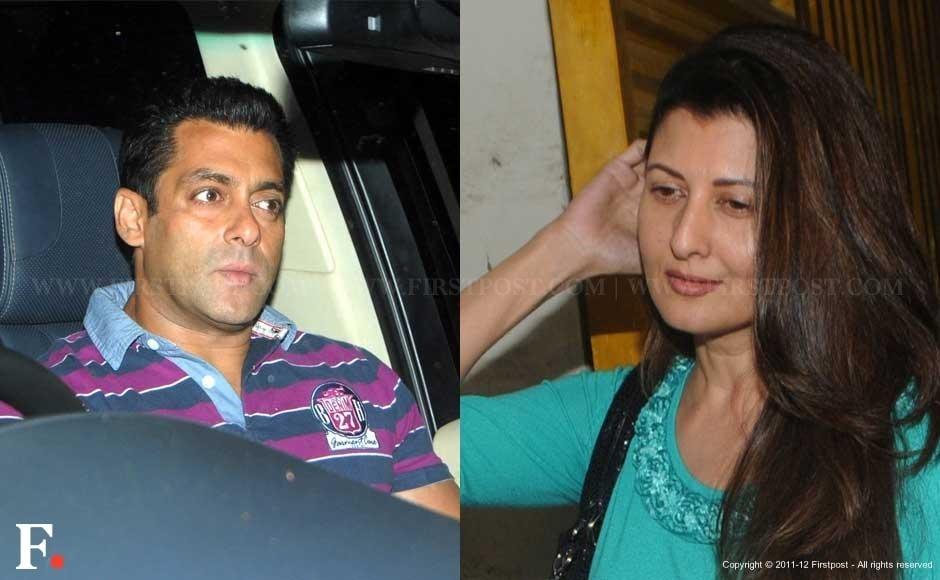 Sangeeta Bijlani bonds with Salman Khan and his family. Raju Shelar/Firstpost