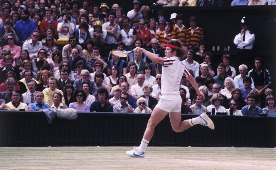 John McEnroe was No. 1 for 170 weeks. Fox Photos/Hulton Archive/Getty Images
