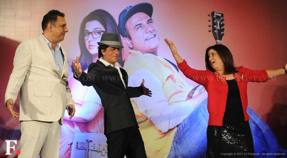 Boman Irani, Shah Rukh Khan and Farah Khan. Sachin Gokhale/Firstpost.