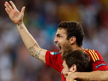 Spain have increased their hold on the top spot. Reuters