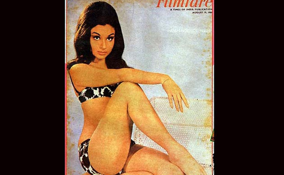 Sharmila Tagore on a Filmfare cover. IBN LIVE