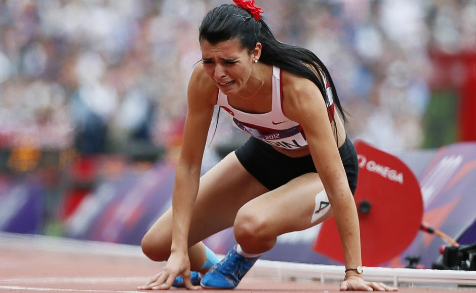London 2012 photos: When the face says it all - Firstpost