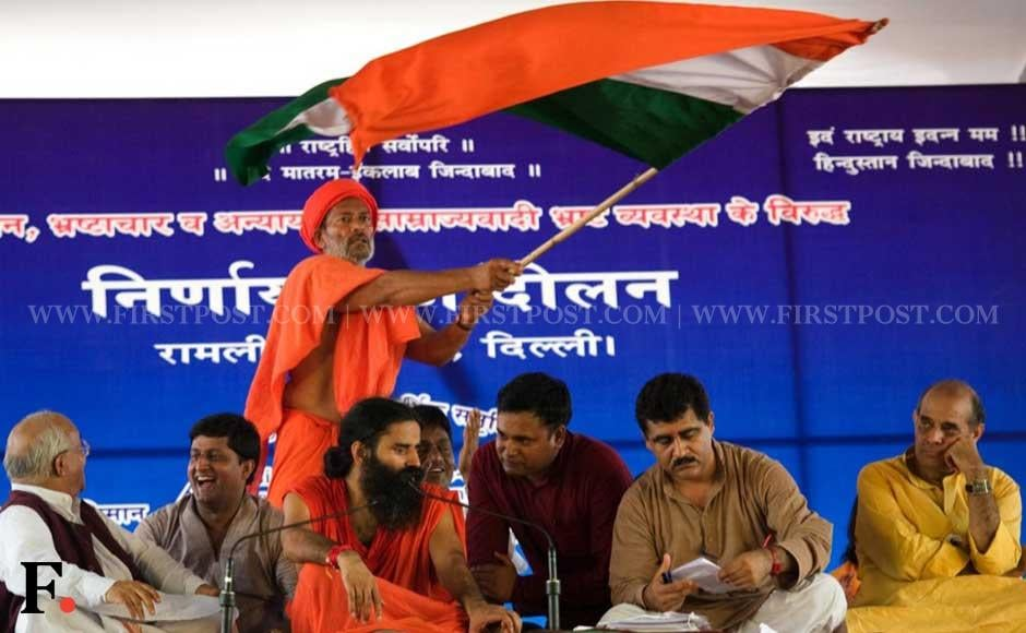Baba Ramdev today launched a three-day fast at the Ramlila Maidan demanding immediate action to enact a strong Lokpal. Naresh Sharma/ Firstpost