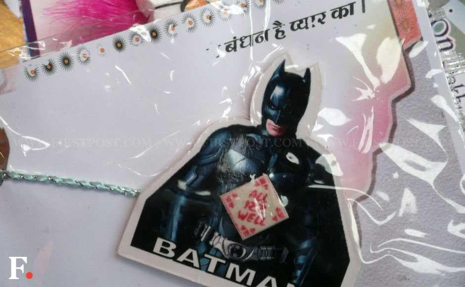 For all the Batman believers, no matter what the age, this is the best rakhi to gift. Avadhoot Khanolkar /Firstpost