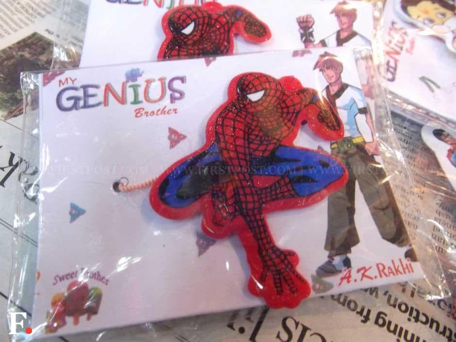 Here's a Rakhi Spiderman fans will love. Avadhoot Khanolkar/Firstpost