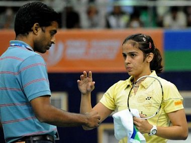 Gopichand has shown Saina the way. AFP