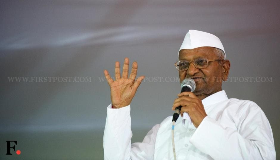 Anna Hazare has said that he will travel across the country and make people aware of Team Anna's political party. Naresh Sharma/Firstpost